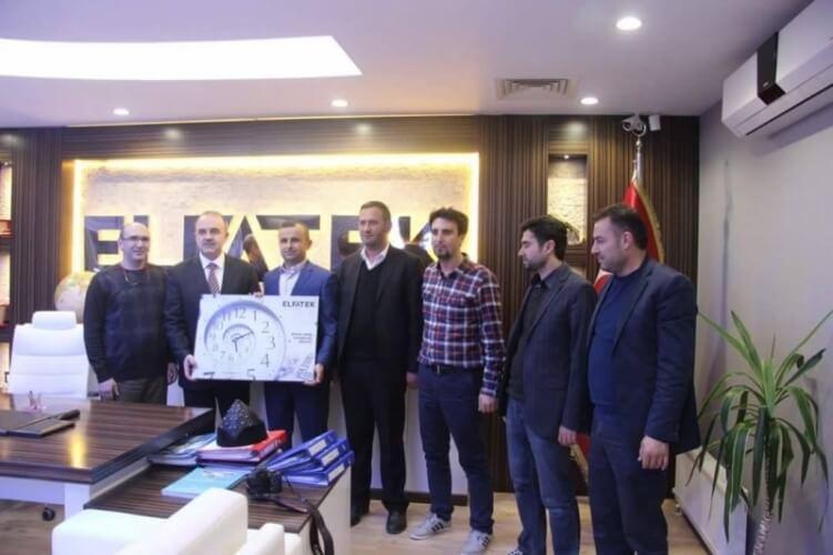 Konya Valisi Sayın Muammer EROL'un Elfatek Elektronik Ziyareti