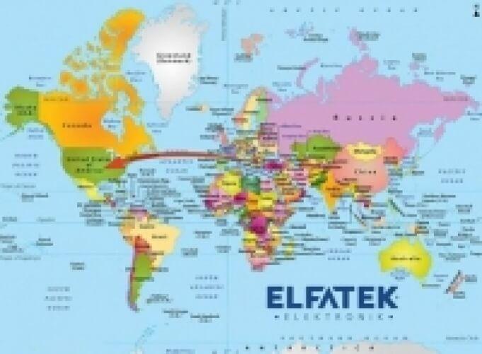 Elfatek ABD'ye İlk Ürün Sevkiyatını Gerçekleştirdi.