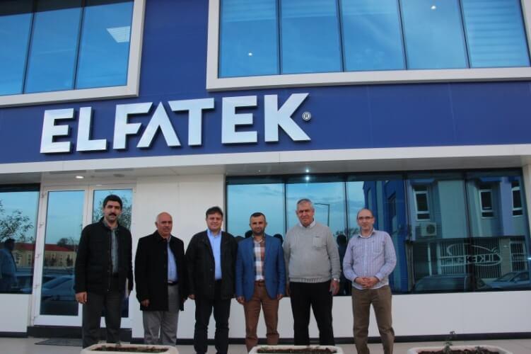 KTO Karatay Üniversitesi Hocalarımız Firmamızı Ziyaret ettiler.