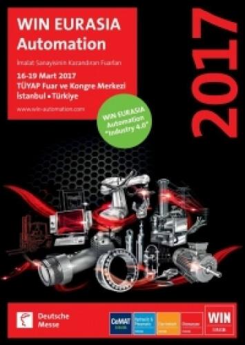 16-19 Mart 2017 tarihlerindeki WIN ERUASIA Automation Fuarı 3. salon D220 Numaralı standımıza bekleriz