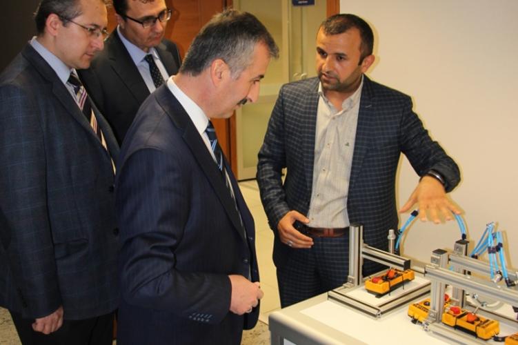 Kosgeb Başkanımız Sn. Recep Biçer Bey'in firmamızı ziyareti.