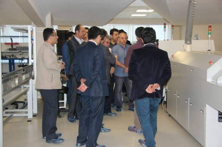 İran Sanayi Odası şirketimizde incelemelerde bulundular.
