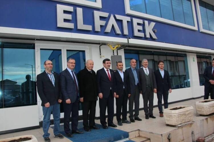Eski Kalkınma Bakanı Sn. Cevdet Yılmaz'ın şirketimizi ziyareti.