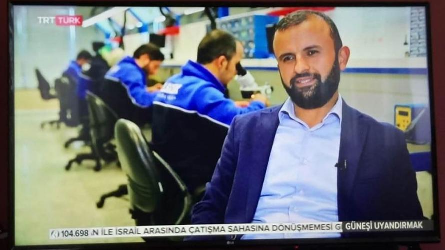 Elfatek TRT Türk kanalında