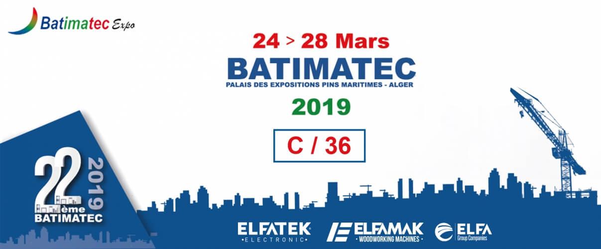 ELFATEK ELEKTRONİK BATIMATEC CEZAYİR Fuarı'nda.
